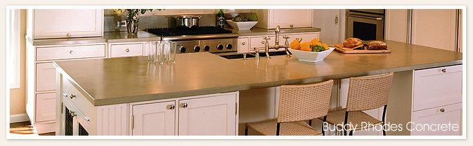 Tan seamless breakfast nook countertop with sink