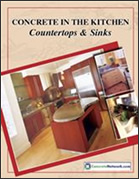 Free Concrete Countertop catalog for kitchens